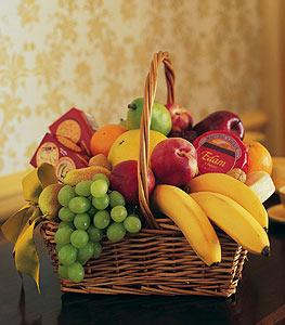 Panier de fruits...