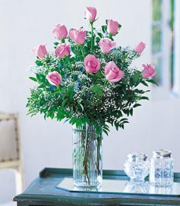 Douzaine de roses...
